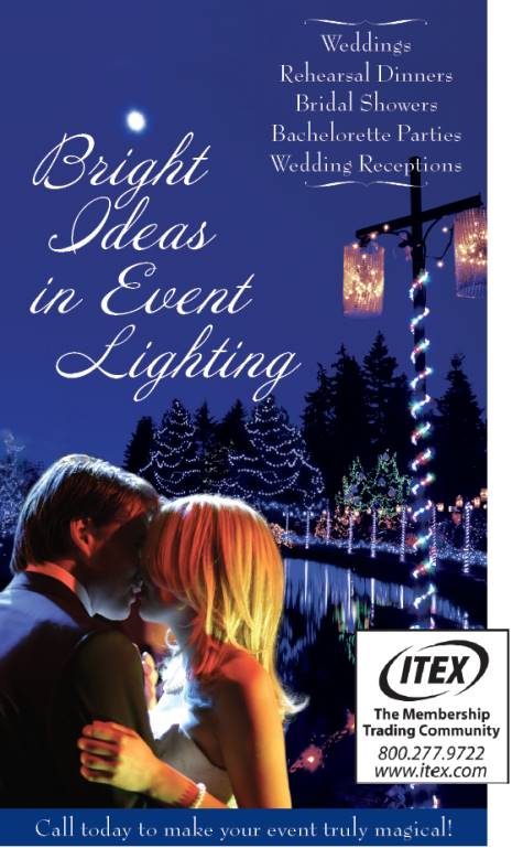 Custom Event Lighting 612-695-5390 Weddings, Rehearsal Dinners, Bridal Showers, Bachelorette Parties and Wedding Receptions